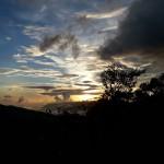 Wschód słońca, droga naFansipan