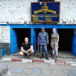 Z miejscową Policją (fot.Urszula Majer)