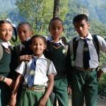 Nepalskie dzieciaki (fot.Urszula Majer)