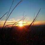 Zachód słońca wBieszczadach