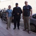 z miejscową Policją
