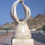 Deptak przy porcie - Muscat