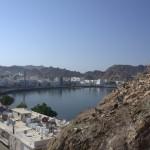 Widok zFortu naport - Muscat