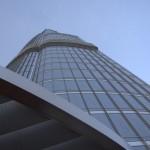 Widoki zCzomolungmy budynków