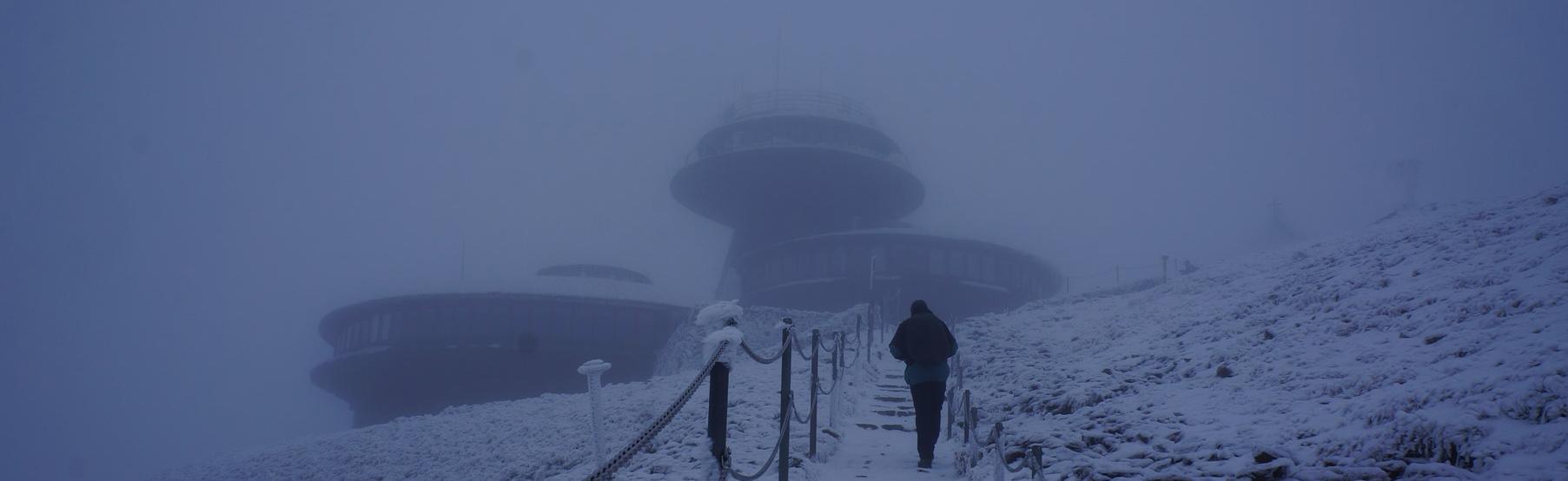 Śnieżka 1603 m npm