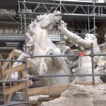 Fontanna di Trevi - obecnie wremoncie