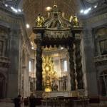 Wnętrze Bazyliki św.Piotra