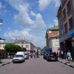 Ulice Ivano - Frankowska