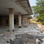 Opuszczony budynek naterenie Fortecy