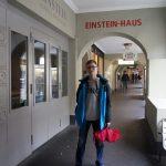 Przed domem Einsteina