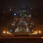 Erywań - kaskady nocą