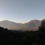 Widok na jezioro Como