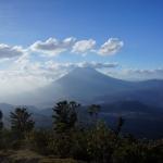 Widok na wulkan Agua