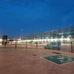 Droga zlotniska wBarcelonie