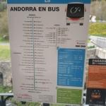 Rozkład jazdy autobusów do La Velli