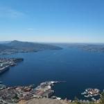Widok na Bergen ze Stoltzekleiven