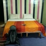 Pokój wygląda ładnie, ale było zimno i zrezygnowaliśmy