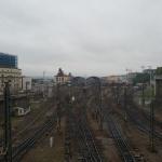 Widok na główny dworzec