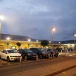 Rejon dworca w Lourdes