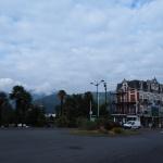 Czekamy na autobus do Gavarnie