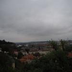 Widoki z murów Hradczan