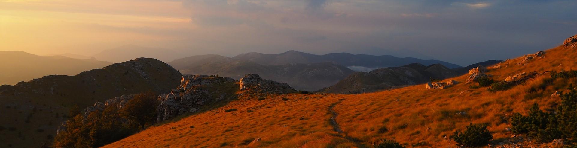 Panorama spod szczytu