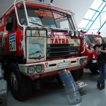 Tatra z Rajdu Paryż-Dakar