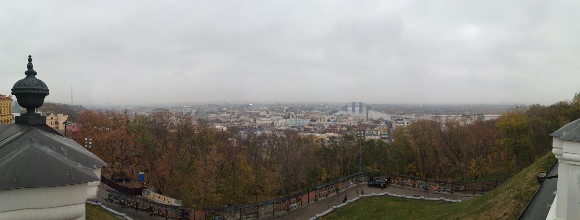 Kijów jesienią