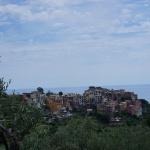 Szlak z Vernazza do Corniglia