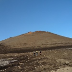 Podejście naConi eruzione 2003