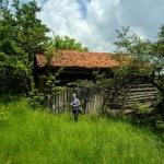 Stara stodoła idroga doniej