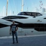 Gdzieś wrejonie Yacht Clubu