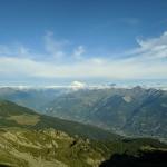 Widok na Mont Blanc