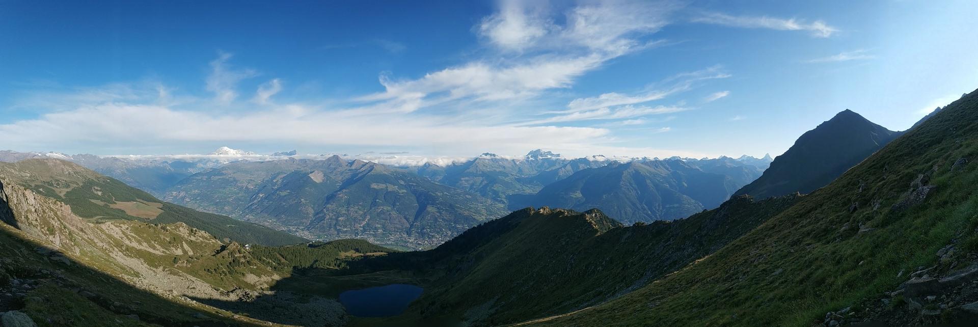 Od Mont Blanc poMatterhorn